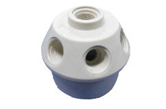 Plastic adaptor with 7 outlets